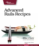Cover Image For Advanced Rails Recipes...