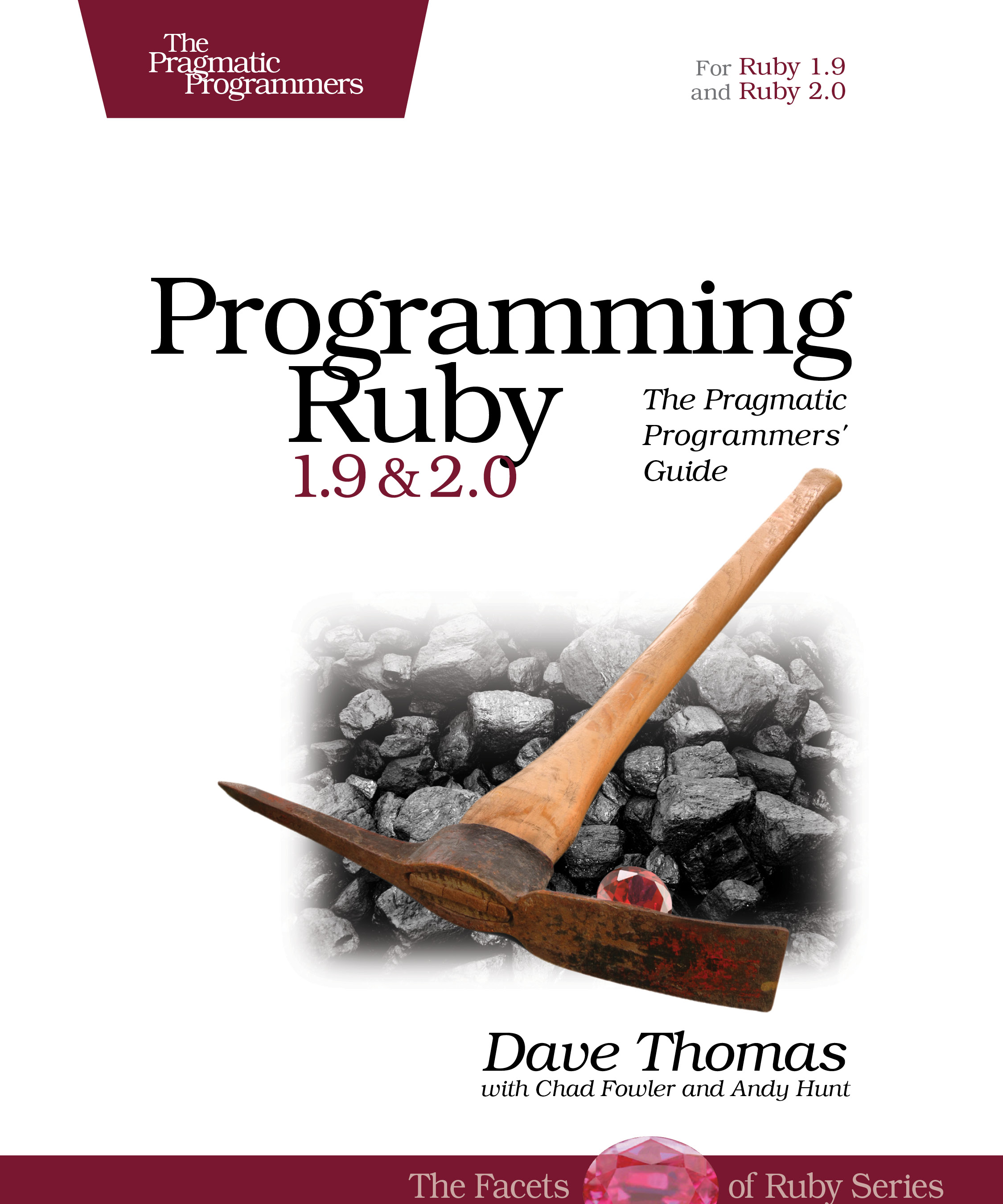 Cover Image For Programming Ruby 1.9…